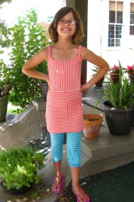 allia striped dress