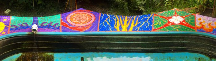 Regeneration Springs deck painting, made by Julianne